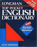 TOP POCKET ENGLISH DICTIONARY - OVER 50,000 DEFINITIONS