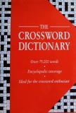 THE CROSSWORD DICTIONARY - OVER 75,000 WORDS - ENCYCLOPEDIC COVERAGE