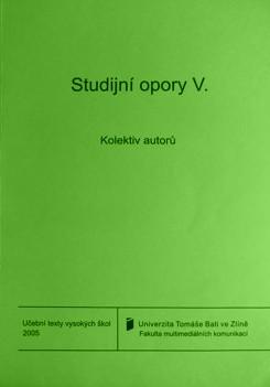 STUDIJNÍ OPORY V.