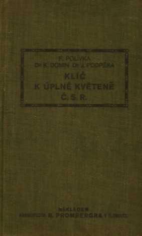 KLÍČ K ÚPLNÉ KVĚTENĚ Č.S.R.
