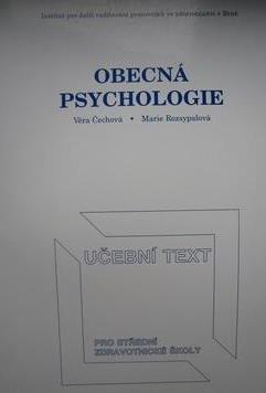 Fotografie OBECNÁ PSYCHOLOGIE - UČEBNI TEXT PRO ZDRAVOTNICKÉ ŠKOLY
