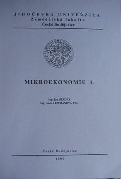 MIKROEKONOMIE I.