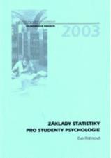 ZÁKLADY STATISTIKY PRO STUDENTY PSYCHOLOGIE