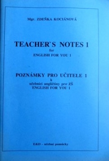 ENGLISH FOR YOU 1 TEACHER´S NOTES 1
