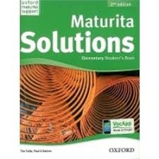 MATURITA SOLUTIONS 2ND EDITION ELEMENTARY STUDENT´S BOOK