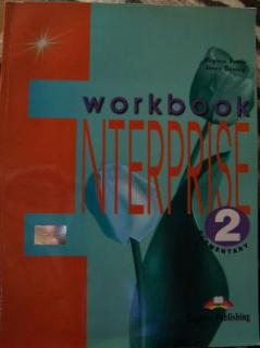 ENTERPRISE 2 ELEMENTARY - WORKBOOK