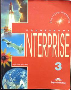 ENTERPRISE 3 PRE-INTERMEDIATE - COURSEBOOK