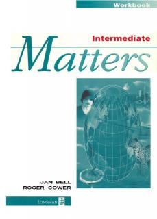 MATTERS INTERMEDIATE WB