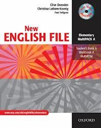 NEW ENGLISH FILE ELEMENTARY MULTIPACK A - SB A, WB A, MULTIROM