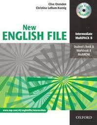 NEW ENGLISH FILE INTERMEDIATE MULTIPACK B - SB B, WB B, MULTIROM
