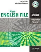 NEW ENGLISH FILE INTERMEDIATE MULTIPACK A - SB A, WB A, MULTIROM+GRAMMAR CHECKER